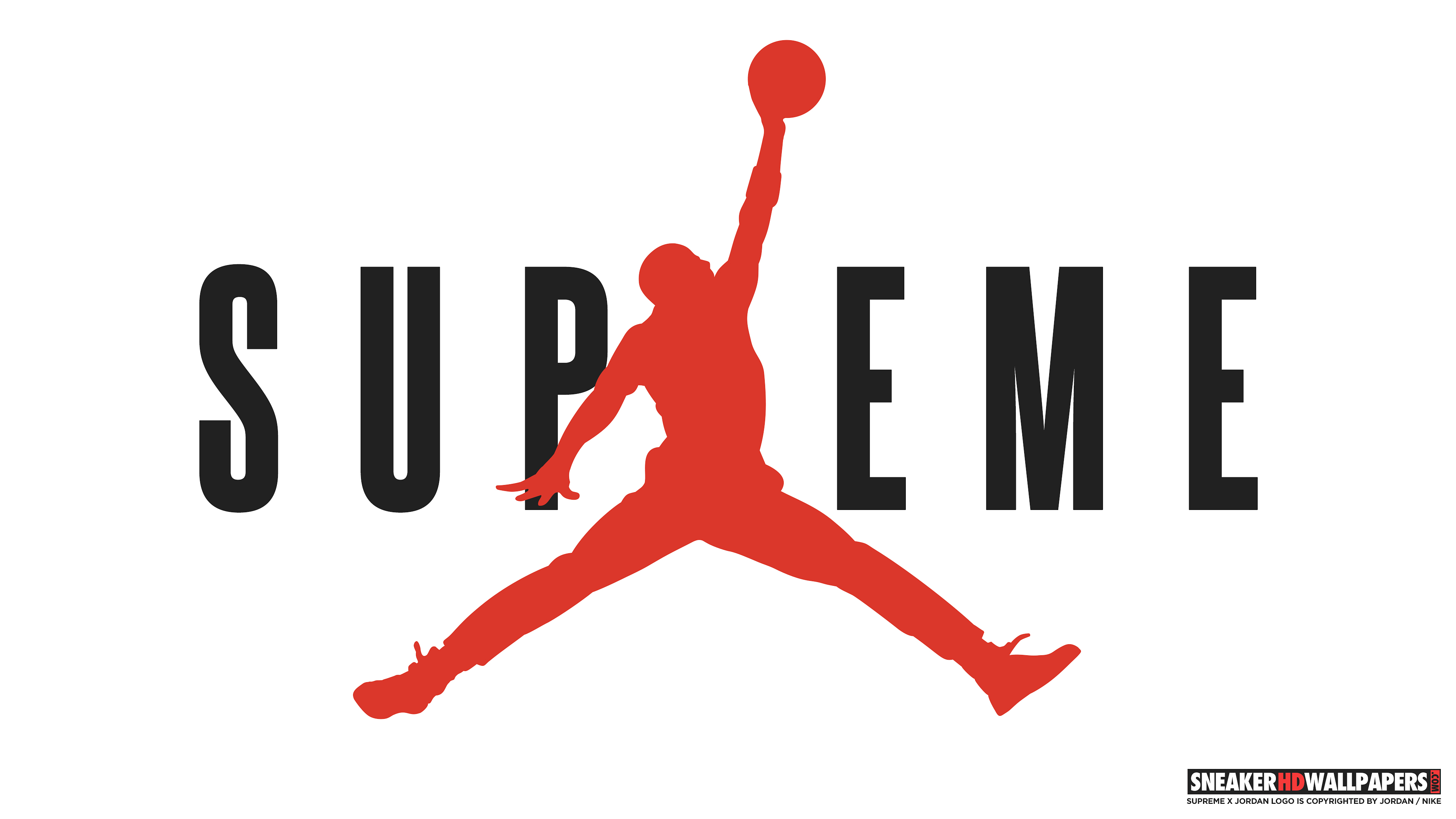 Download Links Supreme X Jordan 4k
