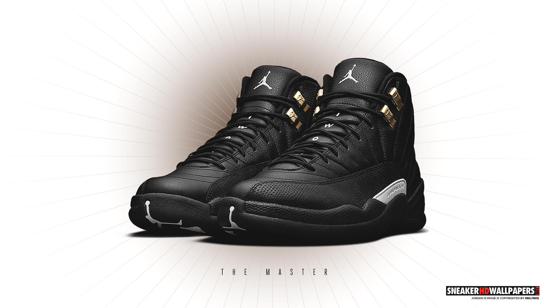 Download Link Air Jordan 12 The Master HD Wallpaper