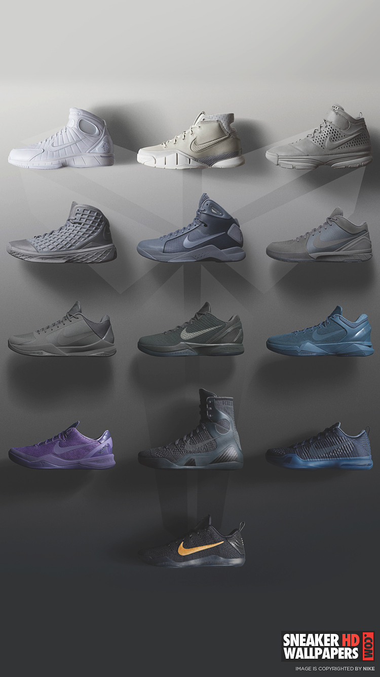 Iphone wallpaper yeezy - Download Link Kobe Black Mamba Pack Ios Android Wallpaper