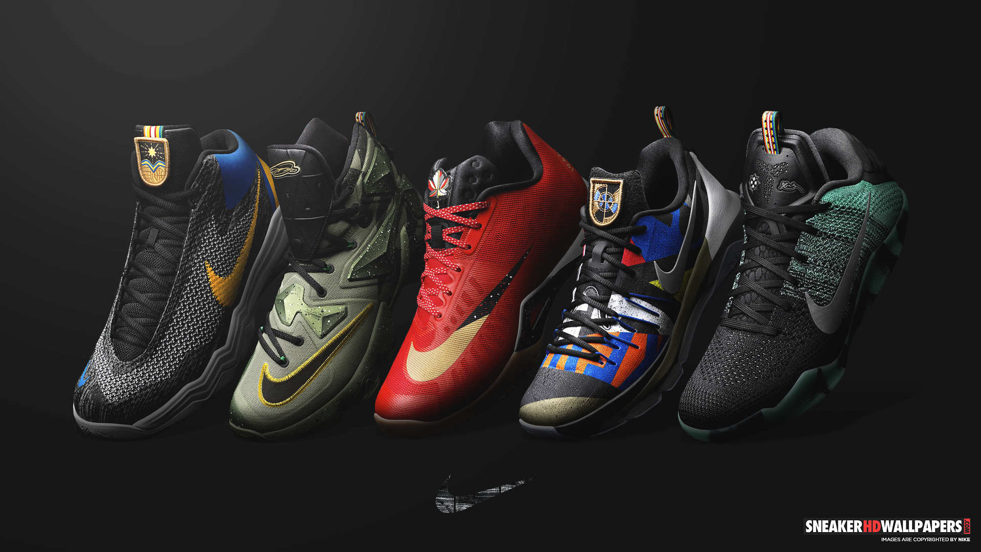 nike basketball shoes wallpapers