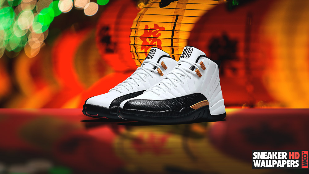 jordan 12 wallpaper 2017 chinese new year